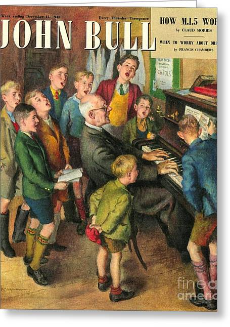 John Bull 1948 1940s Uk School Concerts Greeting Card by The Advertising Archives