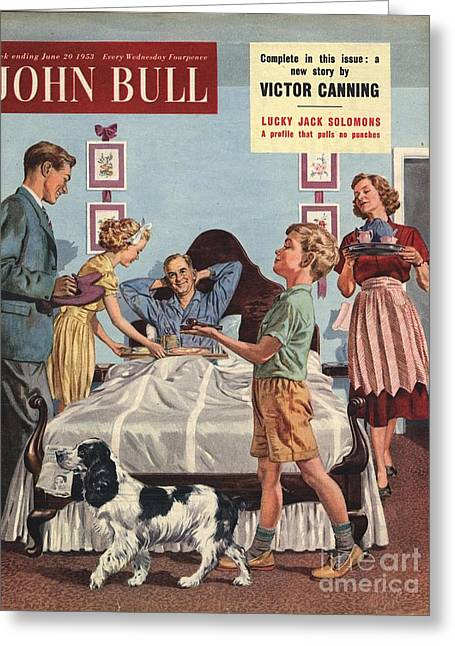 John Bull 1950s Uk Father�s Day Greeting Card by The Advertising Archives