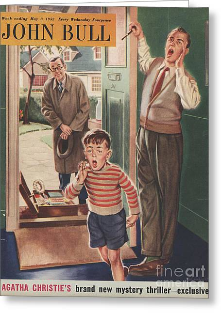 John Bull 1952 1950s Uk Travelling Greeting Card by The Advertising Archives