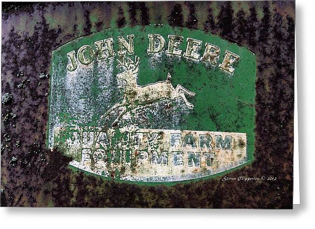 John Deere 2 Greeting Card