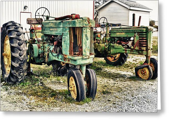 John Deere Past Greeting Card