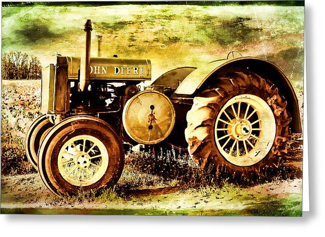 John Deere Sunlit Greeting Card