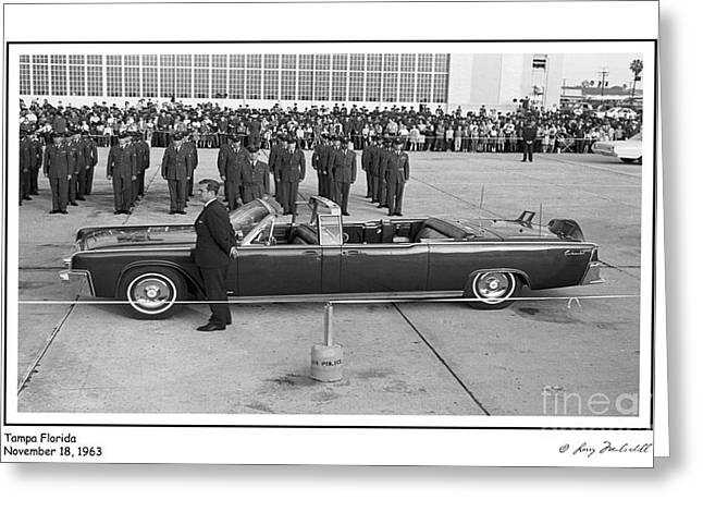 John F. Kennedy - 8 Greeting Card