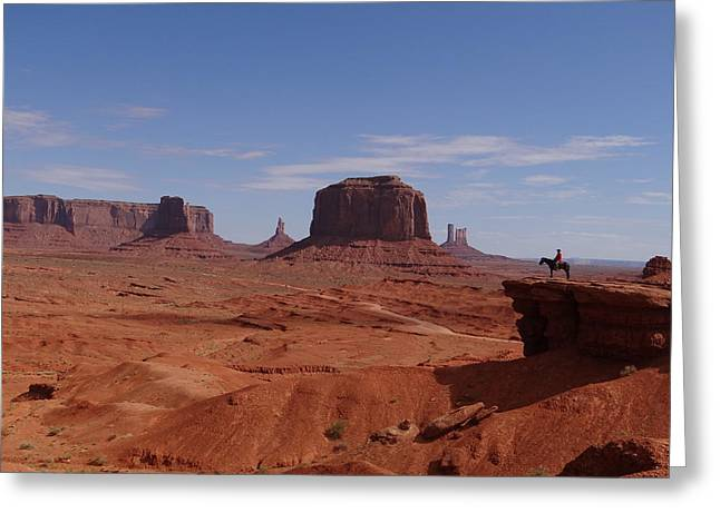 John Ford's Point In Monument Valley Greeting Card