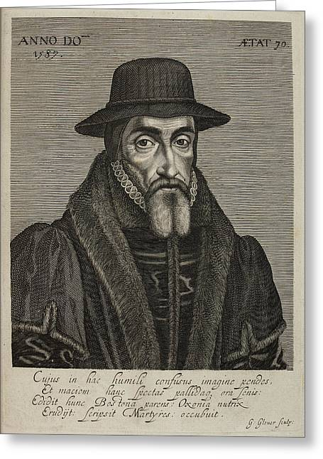 John Foxe Greeting Card by British Library