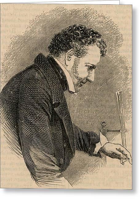 John Frederic Daniell Greeting Card
