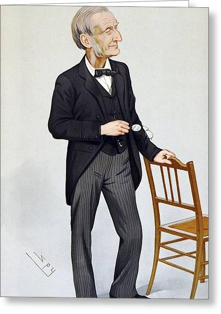 John Gladstone, British Chemist Greeting Card by Science Photo Library