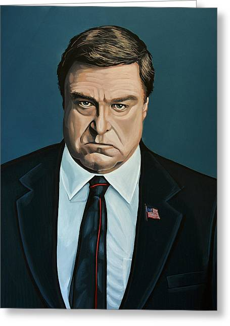 John Goodman Greeting Card