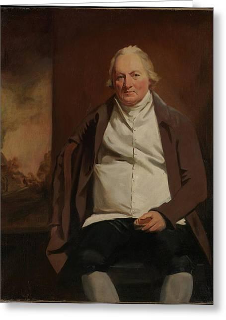 John Gray 1731-1811 Of Newholm Greeting Card by Sir Henry Raeburn