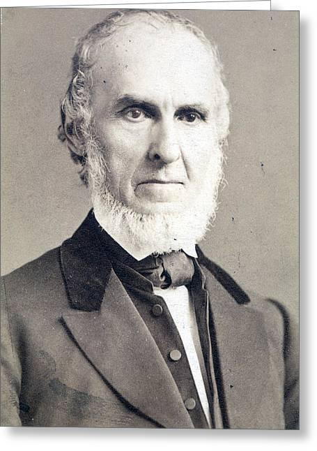John Greeleaf Whittier (1807-1892) Greeting Card by Granger