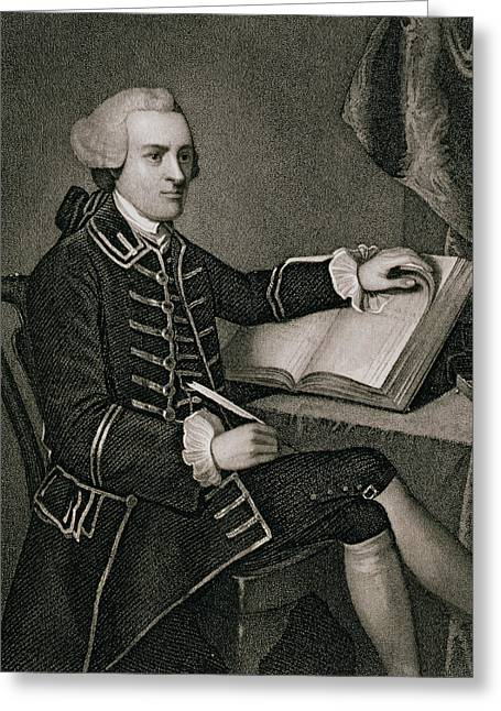 John Hancock Greeting Card by American School