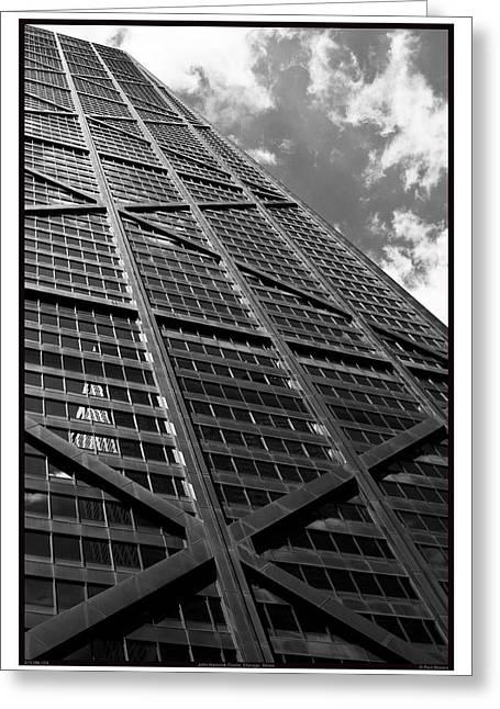 John Hancock Center - 07.31.09_103 Greeting Card