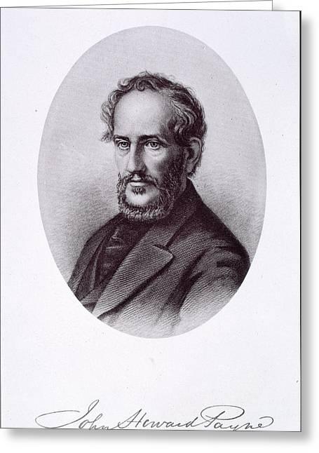 John Howard Payne Greeting Card by British Library