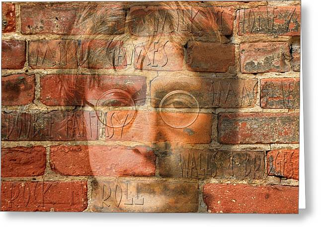 John Lennon 2 Greeting Card