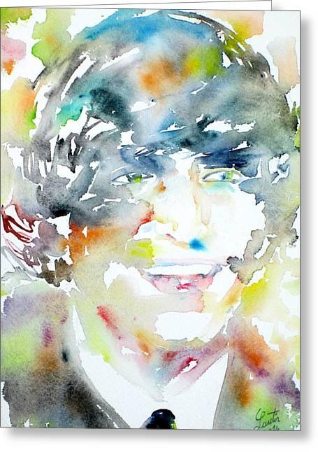 John Lennon Portrait.3 Greeting Card