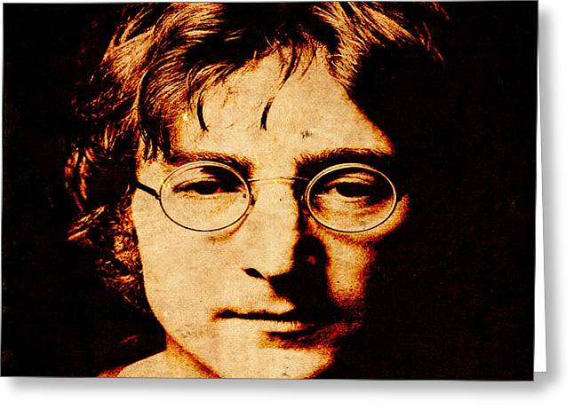 John Lennon3 Greeting Card
