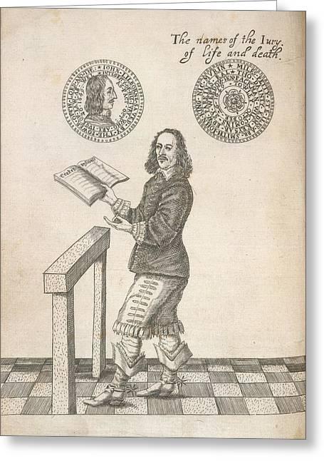John Lilburne Greeting Card by British Library