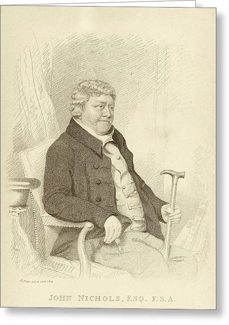 John Nichols Greeting Card