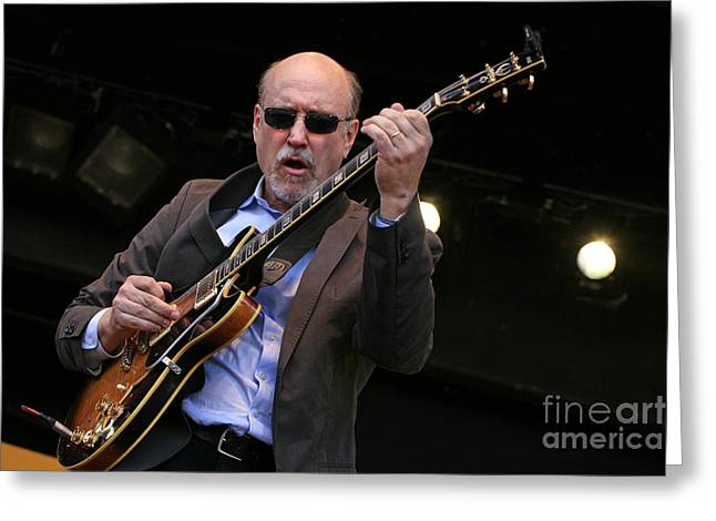John Scofield Live Greeting Card