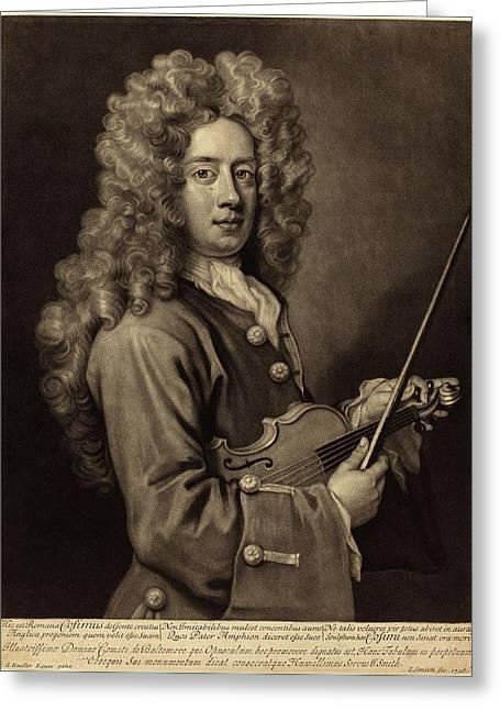 John Smith After Sir Godfrey Kneller English Greeting Card