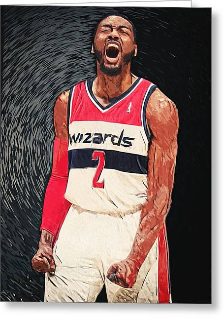John Wall  Greeting Card