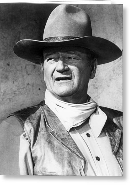 John Wayne In Rio Lobo  Greeting Card