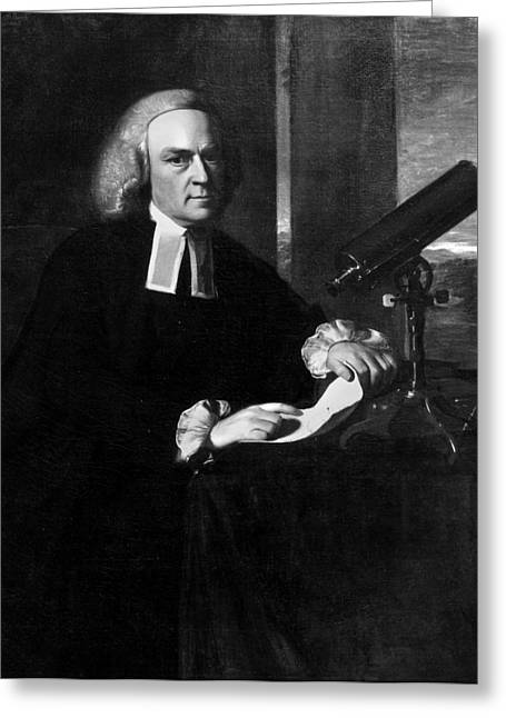 John Winthrop (1714-1779) Greeting Card by Granger