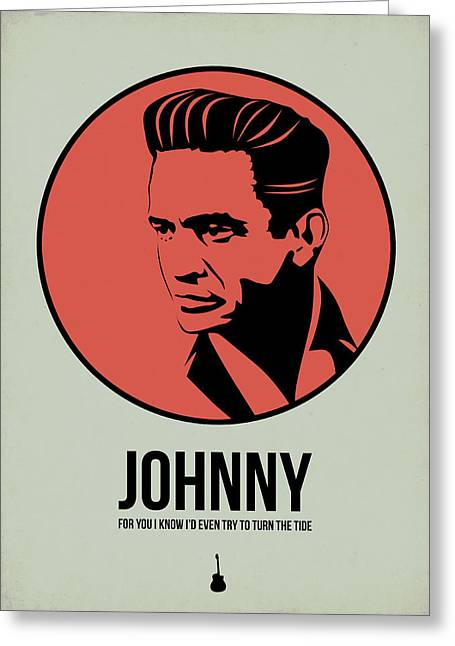 Johnny Poster 2 Greeting Card