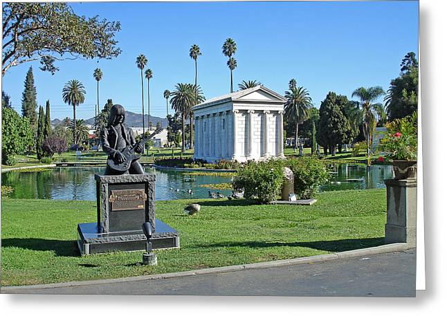 Johnny Ramone - Hollywood Forever Greeting Card