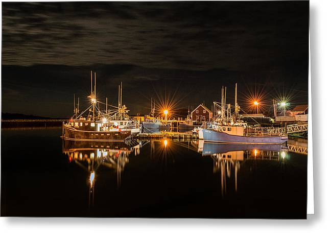 John's Cove Reflections - Revisited Greeting Card