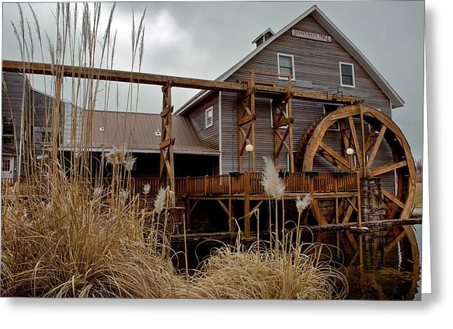 Johnson Mill - Fayetteville Arkansas Greeting Card by Gregory Ballos