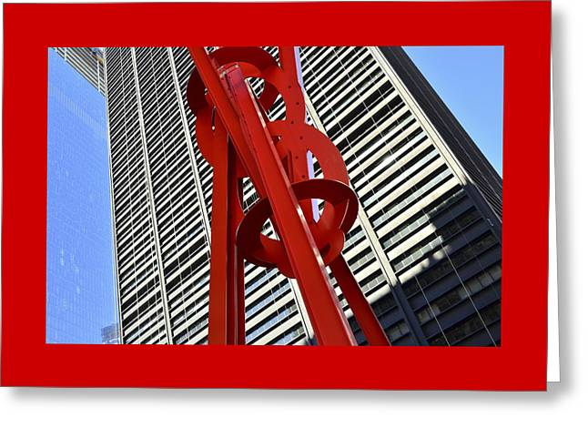 Joie De Vivre Sculpture Greeting Card by Allen Beatty