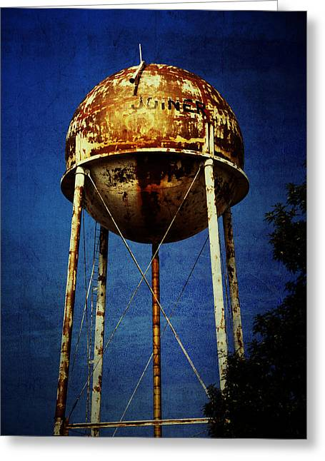Joiner Water Tower Greeting Card