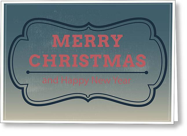 Jolly Christmas Greeting Card Greeting Card