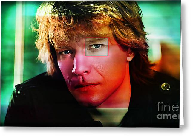 Jon Bon Jovi Greeting Cards – Bon Jovi Birthday Card