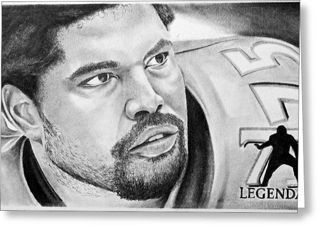 Jonathan Ogden Greeting Card by Don Medina