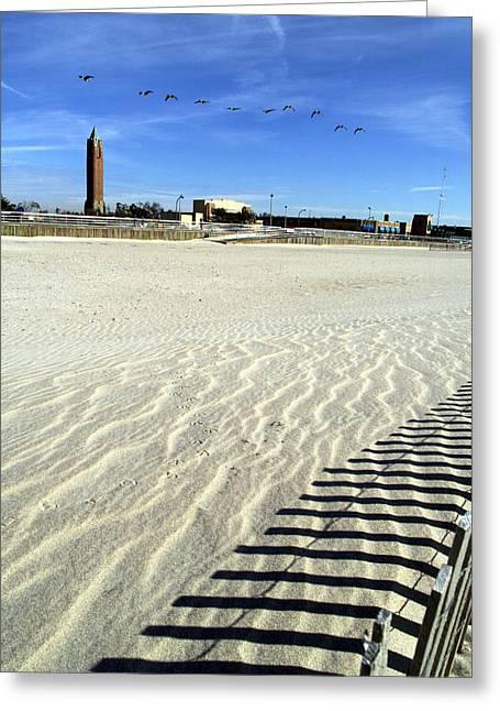 Jones Beach Tower New York Greeting Card
