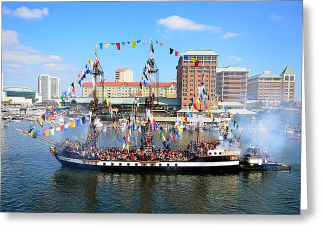 Jose Gasparilla 2013 Greeting Card