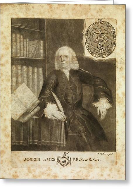 Joseph Ames Greeting Card