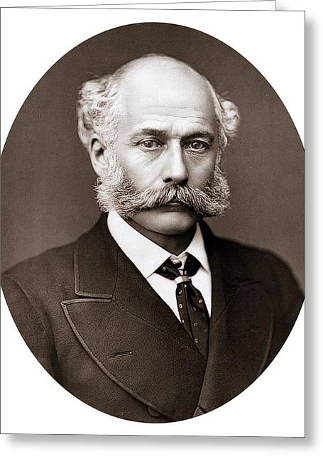 Joseph Bazalgette Greeting Card by Universal History Archive/uig