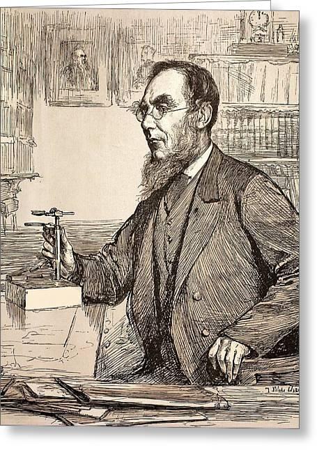 Joseph Hooker Greeting Card by Paul D Stewart
