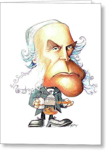 Joseph Lister Greeting Card by Gary Brown