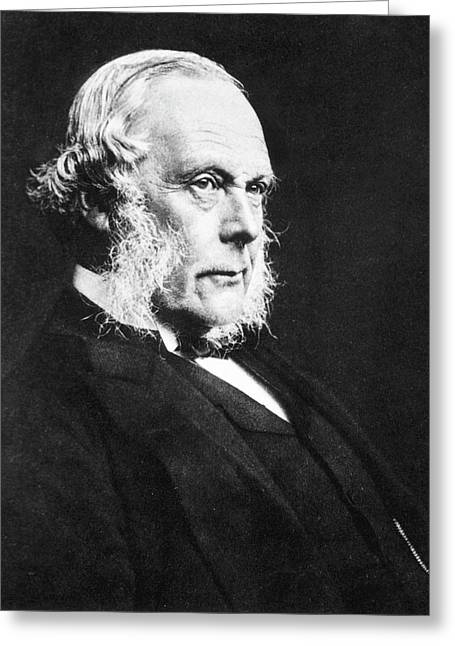 Joseph Lister Greeting Card by National Library Of Medicine