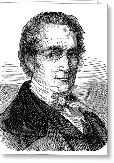 Joseph Louis Gay-lussac Greeting Card by Science Photo Library