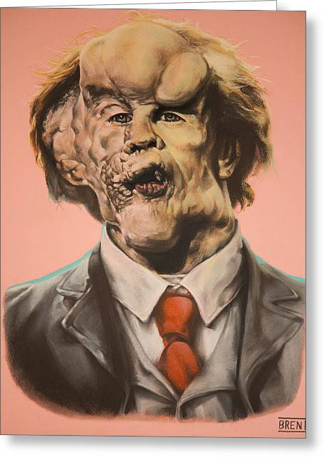 Joseph Merrick The Elephant Man Greeting Card