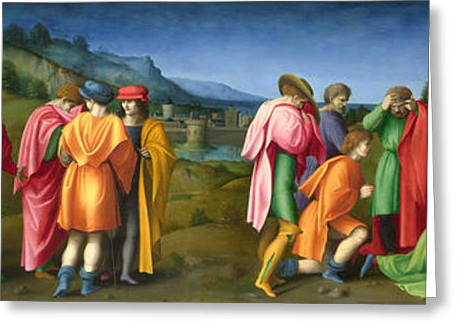Joseph Pardons His Brothers Greeting Card