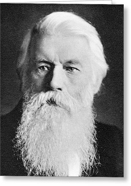 Joseph Swan Greeting Card by Science Photo Library