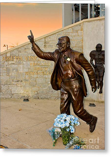 Joseph Vincent Paterno Greeting Card by Tom Gari Gallery-Three-Photography