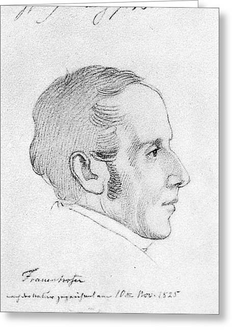 Joseph Von Fraunhofer (1787-1826) Greeting Card by Granger