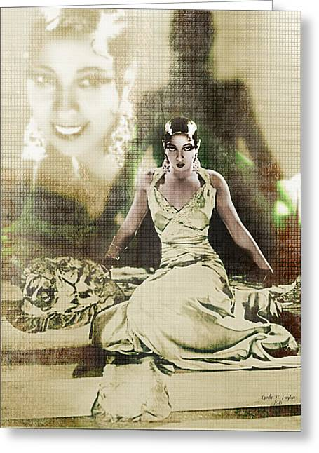 Josephine Baker 2 Greeting Card